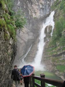 מפל סביצ'ה. מהמפורסמים באתרי שמורת טריגלאב