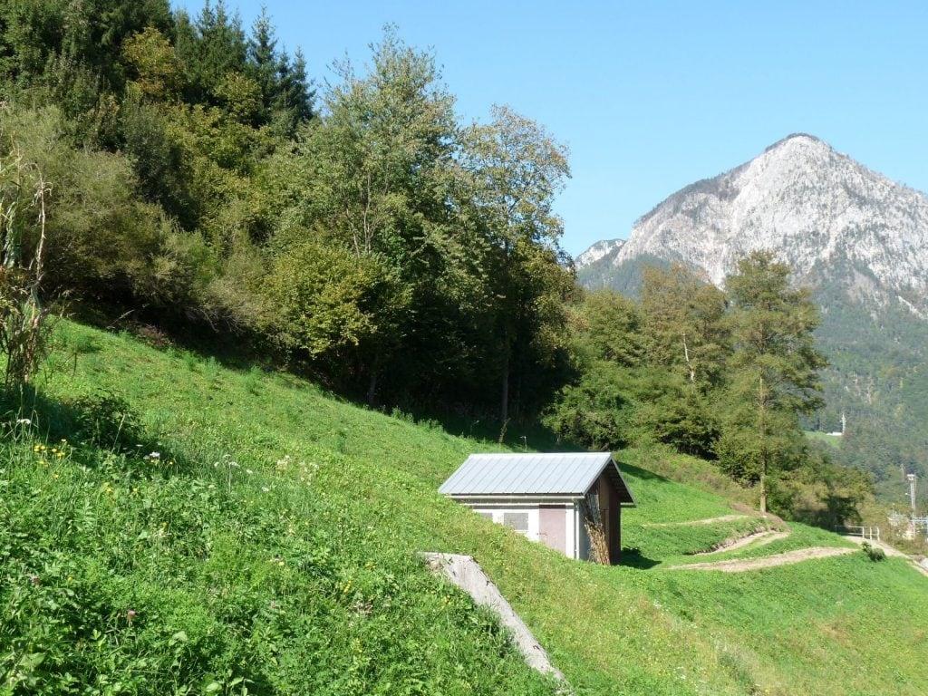 הדרך בהרי סלובניה